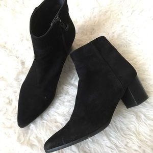 Stuart Weitzman Suede Ankle Boots 7.5